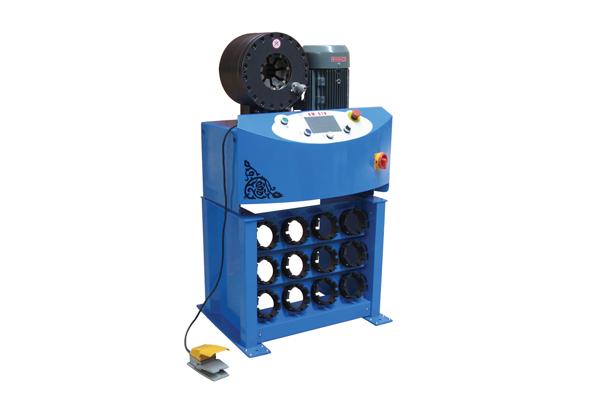 소기업 승진을위한 고압 유압 호스 주름을 잡는 기계